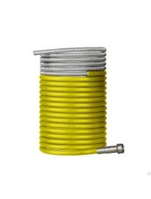 124.0042/GM0541 Канал 1,2-1,6мм сталь желтый, 4м VARTEG
