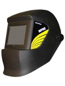 Маска КОРУНД черная со стеклом С5