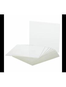 Пластина защитная поликарбонат 133х114