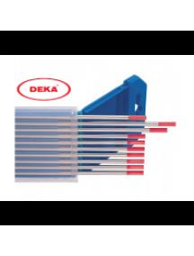 Вольфрамовый электрод DEKA WT-20 красный 1,6 мм (20 шт в уп.)