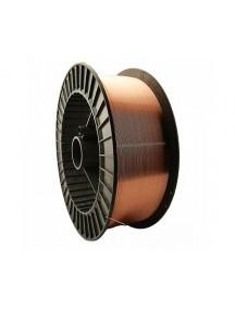 Омедненная сварочная проволка DEKA EM 12 сварка под флюсом (Св08ГА) (Мотки; Ø 4,0 мм.; 25кг)